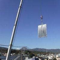 太陽熱温水器の交換工事のサムネイル