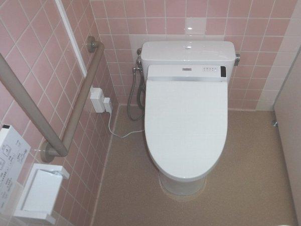 事務所のトイレ工事