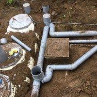 合併浄化槽の工事のサムネイル