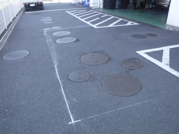駐車場アスファルト工事