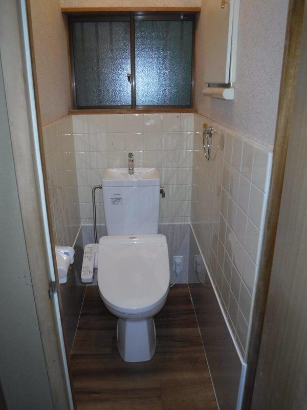 トイレ工事 和式⇒洋式のサムネイル