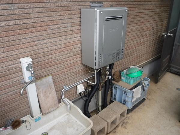 ガス給湯器の交換工事