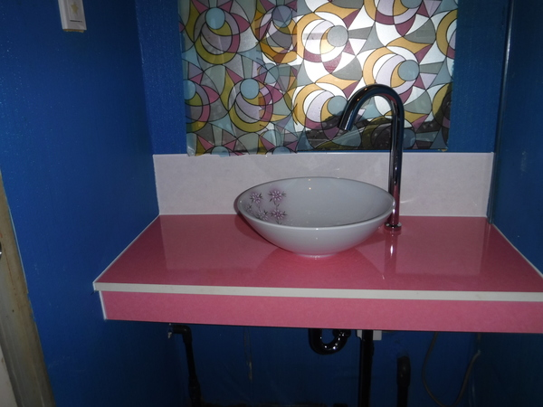 店舗 手洗器交換工事