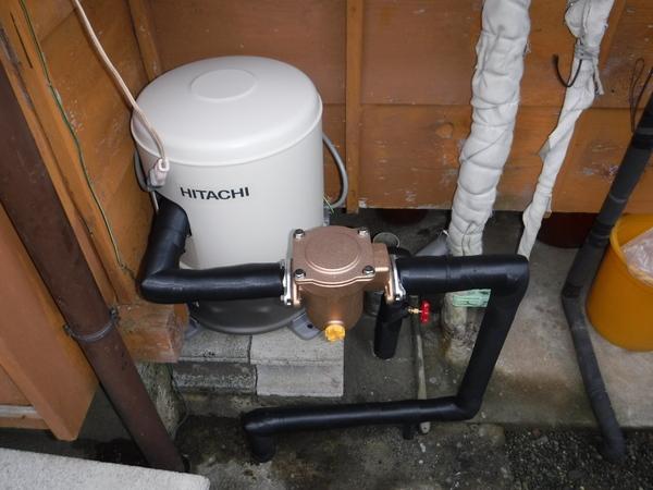 井戸ポンプの交換